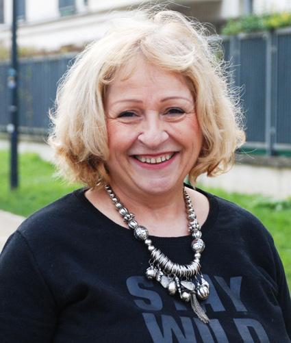 Françoise MESSIAH – 63 ans
